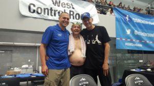 Matt Miller, Willard Lamb, and Rowdy Gaines